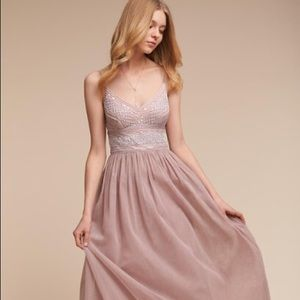 BHLDN Aida Dress Rose Rose Quartz